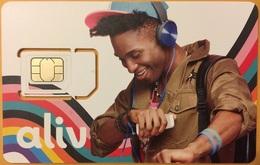 BAHAMAS : ALIV SIM (with Chip) In FOLDER - Bahamas