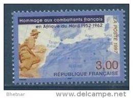 """Timbre France YT 3072 """" Combattants Français En Afrique Du Nord """" 1997 Neuf - Unused Stamps"""