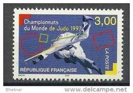 "Timbre France  YT 3111 "" Championnats De Judo "" 1997 Neuf - Nuevos"