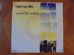 Ancien Disque Vinyle 45 T Alphaville Sounds Like A Melody 1984 - New Age