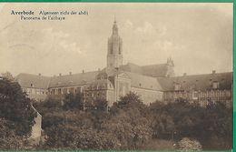 ! - Belgique - Averbode (Scherpenheuvel-Zichem) - Panorama De L'Abbaye - Avec Timbre Cob 247 - Cachet Du 15/09/1928 - Scherpenheuvel-Zichem