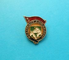 SOVIET UNION JUDO FEDERATION ( CCCP ) ... Vintage Pin Badge Anstecknadel Distintivo Abzeichen Spilla Martial Arts - Sports De Combat