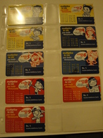 9 Magnetic Phonecards From Venezuela - Cantv - Multiplica - Venezuela
