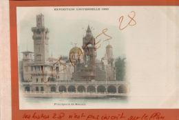 CPA  75  PARIS  EXPOSITION UNIVERSELLE  1900   PRINCIPAUTE  DE NONACO    JAN 2018 519 - Expositions