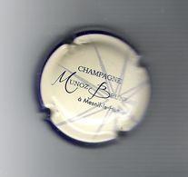 CAPSULE  DE  CHAMPAGNE  /  CHAMPAGNE  MUNOZ  BRUNEAU  ( à MESNIL-le-HUTTIER ) /  BLEU ROY  Et  CRÈME - Autres