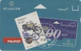 BPR-1996 : P379 5u PHILAPOST Poststamps+phonecard MINT - Belgium