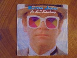 Ancien Disque Vinyle 45 T Elton John I'm Still Standing 1983 - Rock