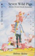 Télécarte Japon / 110-48267 - Comics - 7 WILD PIGS By HELMUT HEINE - COCHON -  PIG Japan Phonecard 3 GERMANY - Comics