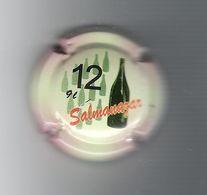 CAPSULE  DE  CHAMPAGNE  /  SALMANAZAR  ( 9 Litres = 12 Bouteilles ) - Champagne