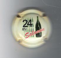 CAPSULE  DE  CHAMPAGNE  /  SALOMON  ( 18 Litres = 24 Bouteilles ) - Champagne