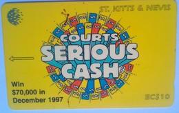 191CSKA Courts Cash - Saint Kitts & Nevis