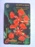 190CSKA National Flower - St. Kitts & Nevis