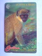 176CSKA Monkey - St. Kitts & Nevis