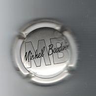 CAPSULE  DE  CHAMPAGNE  /  MB  ( MICHEL  BAUDVIN ) , à  CORMICY  /  GRIS-ARGENT Et  NOIR - Champagne