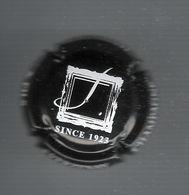 CAPSULE  DE  CHAMPAGNE  /  CHAMPAGNE  JANISSON  &  FILS  ( à  VERZENAY ) , SINCE  1923  /  NOIR  Et  BLANC - Champagne
