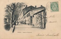 H21 - 06 - SOSPEL - Alpes-Maritime - Caserne Et Boulevard - Sospel