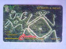 166CSKA Petroglyphs - St. Kitts En Nevis
