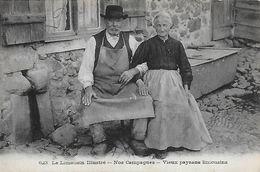 87)  Le Limousin Illustré  -Nos Campagne  - Vieux Paysans Limousins - France