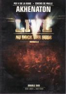 DVD DOUBLE AKHENATON LIVE Marseille (port Poste 150 Gr) Etat: TTB - Concert Et Musique