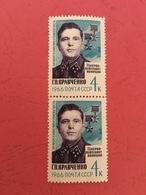 USSR Russia 1966 Pair World War WWII Hero Kravshenko History WW2 Militaria Award Medal Famous People Stamps MNH Sc 3168 - 2. Weltkrieg