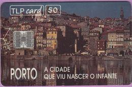 Télécarte Portugal °° 50 - Porto A Cidade Infante - Sc7 - 07-94- RV 5862  **  TBE  Bom Estado - Portugal