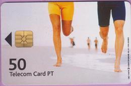 Télécarte Portugal °° 50 - Jogging Praia - Gem - 06  -RV 4576… - Portugal