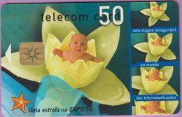 Télécarte Portugal °° 50 - Uma Estrela Na Expo98- Gem - RV 4924... - Portugal