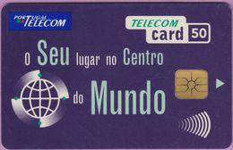 Télécarte Portugal °° 50 - O Seu Centro Mundo Marine - Gem - RV 8967… - Portugal