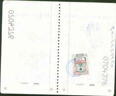 Revenue Stamps 200r - Used VISA STAMP ON PASSPORT PAGE - Saudi Arabia