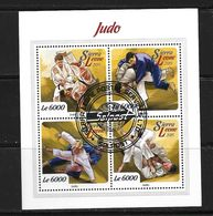 SIERRA LEONE 2015  JUDO  (CTO)   YVERT N°  OBLITERE - Judo