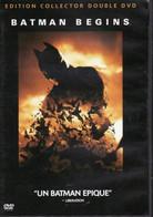 DVD BATMAN BEGINS Double Dvd Collector Etat: TTB Port 200 Gr - Fantasy