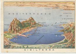GIBILTERRA / POSTA MILITARE N. 100 CART. POSTALE PER LE FORZE ARMATE VIAGGIATA 1942 (A84) - Gibilterra