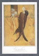 Chromo MENU CAFOLA SUCHARD SUMELA, Oiseau, Chocolat Suchard,Grand Format Env. 20.5 X 14 Cm - Suchard