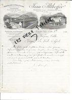 88 - Vosges - ARCHETTES - Facture ALTHOFFER - Manufacture De Draps Feutrés Pour Impressions - 1914 - REF 86C - Francia