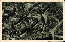 Cp Zwickau In Sachsen, Fliegeraufnahme, Stadtpanorama, Straßenpartien - Allemagne