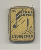 """Boîte Pour Aiguilles De Phonographe """"LAUBSCHER"""" Suisse (b224) - Objets Dérivés"""