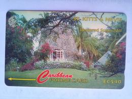 77CSKB  EC$40 Sugar Mill - St. Kitts & Nevis