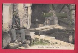 01 Meunier Jouant De La Vielle Folklore Moulin - France