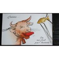 Carte Postale : Premier Avril, Comme Vache, On Ne Fait Pas Mieux ! - Non Classificati