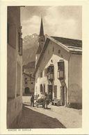 5 AKs Scuol Schuls Sent Photo Diebold 1920/30 - Lesen! - GR Grisons