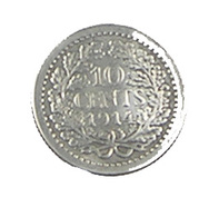 10 Cents - Hollande - 1914 - Argent - TB+ - - [ 3] 1815-… : Kingdom Of The Netherlands