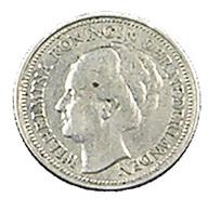 10 Cents - Hollande - 1928 - Argent - TB+ - - [ 3] 1815-… : Kingdom Of The Netherlands
