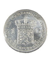 1 Florin - Hollande - 1929 - Argent - TtB - - [ 3] 1815-… : Kingdom Of The Netherlands