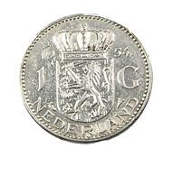 1 Gulden - Hollande - 1954 - Argent - TtB - - [ 3] 1815-… : Kingdom Of The Netherlands