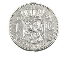 1 Gulden - Hollande - 1958 - Argent - TTB - - [ 3] 1815-… : Kingdom Of The Netherlands