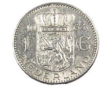 1 Gulden - Hollande - 1964 - Argent - TTB - - [ 3] 1815-… : Kingdom Of The Netherlands