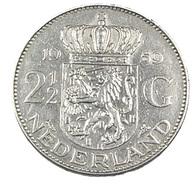 2 1/2 Gulden - Hollande - 1959 - Argent - TTB - - [ 3] 1815-… : Kingdom Of The Netherlands