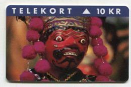 TK 31146 DENMARK - KP185 - Magnetic Indo-Phonecards '95 - Jakarta 1000 Ex. MINT ! - Denmark