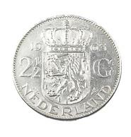 2 1/2 Gulden - Hollande - 1963 - Argent - TTB - - [ 3] 1815-… : Kingdom Of The Netherlands