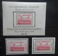 BELGIE 1950    Blok 29  + PR  117-118      Postfris **     CW  115,00 - Blocks & Sheetlets 1924-1960